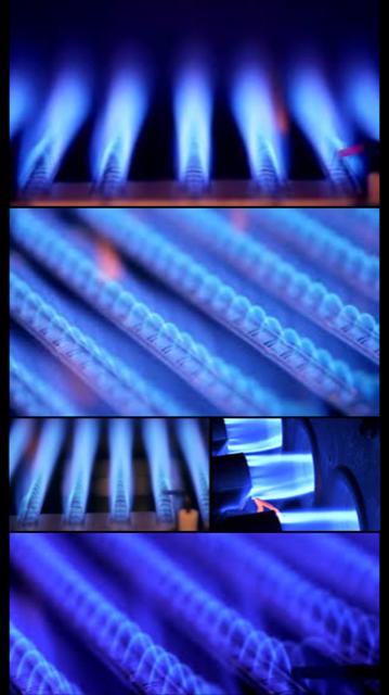 Composite image of gas burners - MV Mechanical inc.