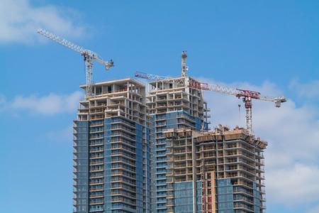 High Rise building under construction - MV Mechanical Inc.