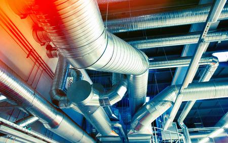 Building ventilation pipes - MV Mechanical Inc.